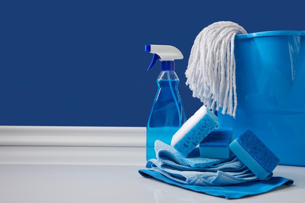 cleanign supplies